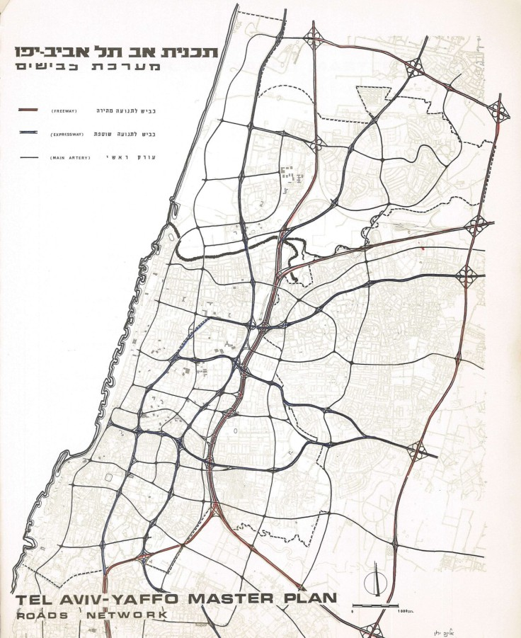 1968 road network