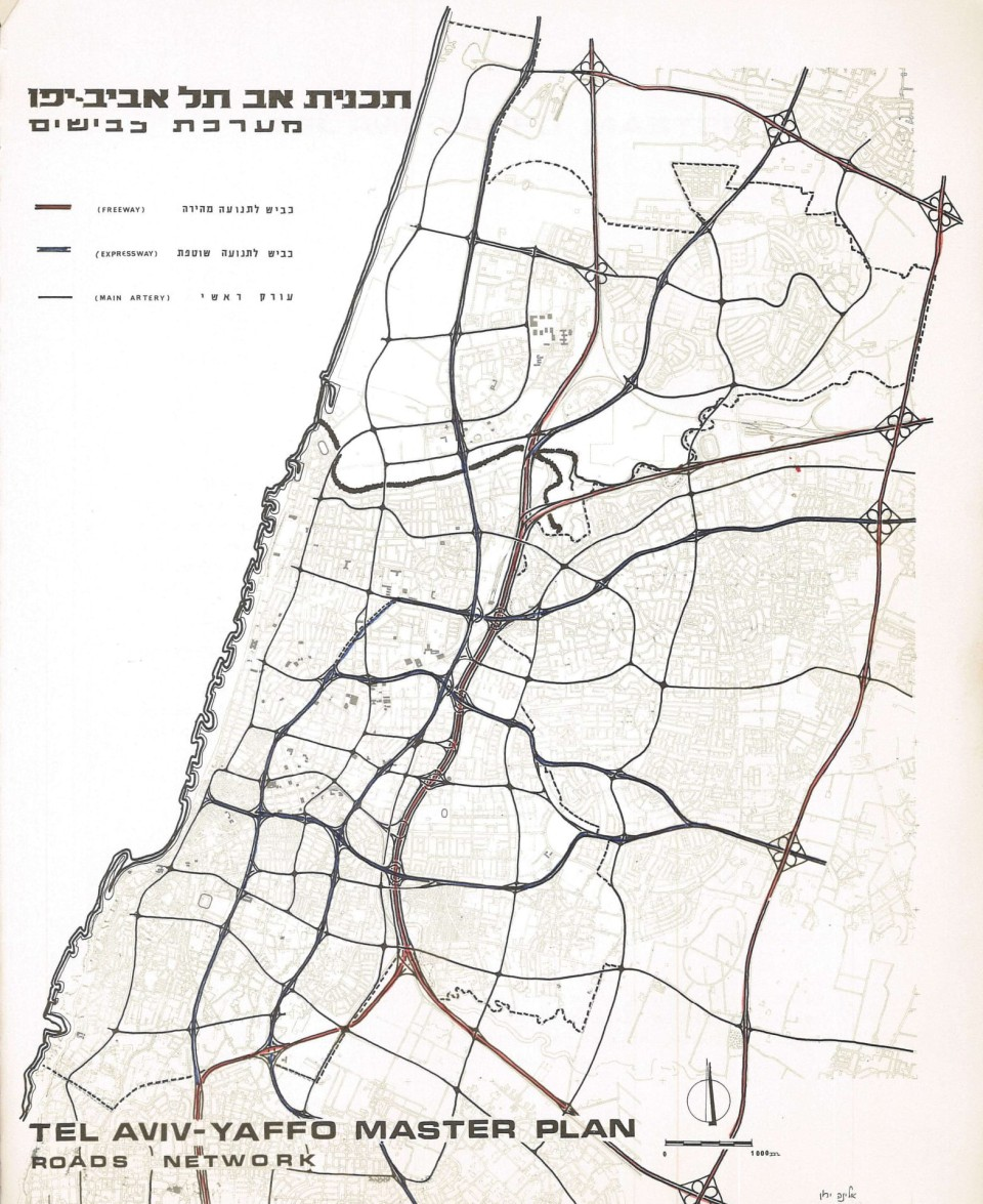 1968 road network