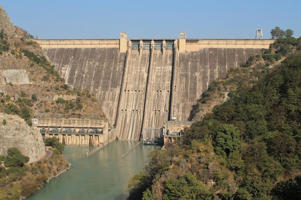 Bhakra Dam_