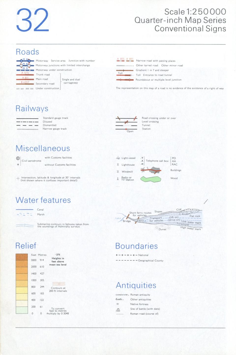 OS map info